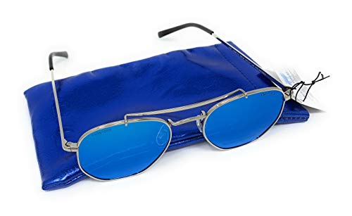 Gafas de sol Retro Polarizadas Venice moda hombre 2018/2019 - VE68170 lentes azules y oscuras