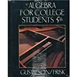 Algebra for College Students with Study Guide Sampler 9780534366025