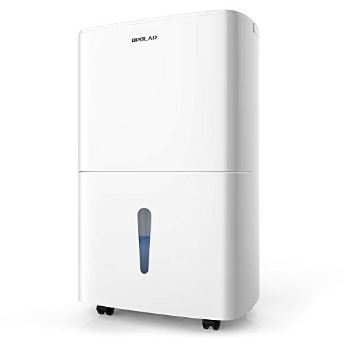 OPOLAR 70 Pint Dehumidifier Humidity & Timer Control, 7L Water...
