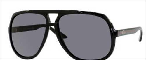 Gucci GG 1622/S Unisex Sunglasses 1622S-0D28R6 Shiny Black E63B14T130 M - Gucci Us