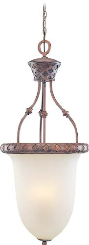 Volume Lighting V3414-31 Alexandria 4 -Light Chandelier, Bowl Pendant - Alexandria 4 Light Chandelier