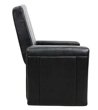 Outstanding Amazon Com Convertible 3 In 1 Ottoman Chair Black Leather Frankydiablos Diy Chair Ideas Frankydiabloscom