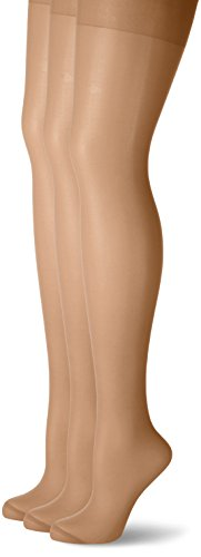 NUR DIE Damen Strumpfhose Supersitz Color 3er Pack, 20 den