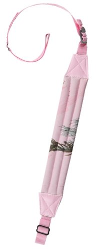 Bulldog Cases Pink APHD Camo Deluxe Padded 1-Inch Rifle Sling