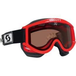 (Scott USA 87 OTG Snowcross Speed Strap Goggles Red/Rose Lens 217794-0004004)