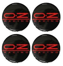 55 mm sticker emblem for rim hubcaps. OZ Racing 4 pieces