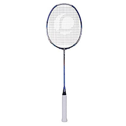 Buy ARTENGO BR 900 P LITE ADULT BADMINTON RACKET - BLUE   WHITE Online at  Low Prices in India - Amazon.in 27eb8e494a4db