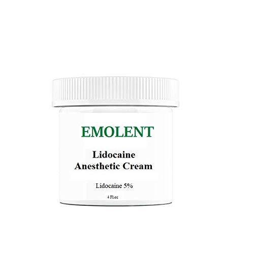 EMOLENT, 5% Lidocaine Pain Relief Cream, 4 fl.oz