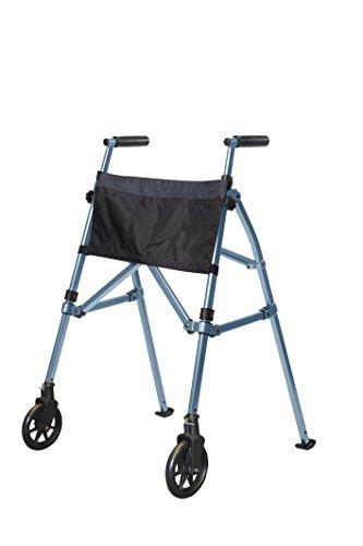 - Stander Ez Fold N' Go Walker Adjustable Lightweight Travel Walker, Cobalt Blue, 8 Pounds