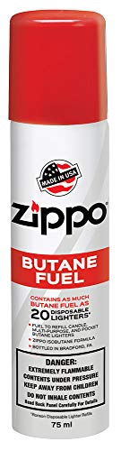Zippo Butane Fuel, 42 gram Packaging may vary. (Super Smoke Fluid)