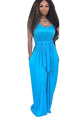- Women's Sexy Casual Color Block Short Sleeve Shift Split Side Loose Maxi Long Dress