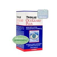 Twinlab Ocuguard Plus Capsule - 120 per pack -- 2 packs per case.