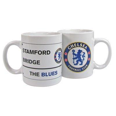 Chelsea Fc. Street Sign Mug