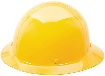 MSA 454666 skullgard full-brim protectora Sombrero w/staz-on Suspensión, amarillo, estándar: Amazon.es: Amazon.es
