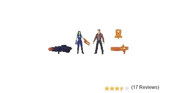 Pack de 2 Minifiguras de Guardianes De La Galaxia Star Lord y ...