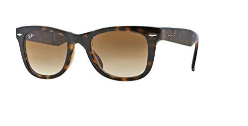 Ray-Ban RB4105 FOLDING WAYFARER 710/51 54M Light Havana/Brown Crystal Gradient Sunglasses For Men For ()