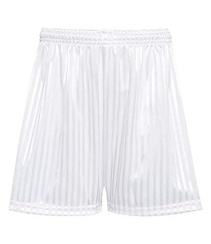 Children/'s Drawstring PE Shorts Uniform Rohi Shadow Stripe Gym Sports Games School PE Shorts Unisex