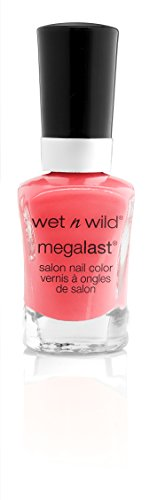 wet n wild Megalast Nail Color, Tropicalia, 0.45 Fluid Ounce