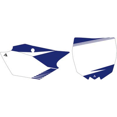 Attack Graphics Skyline Number Plate Backgrounds - Fits: Yamaha YZ125 2003-2005