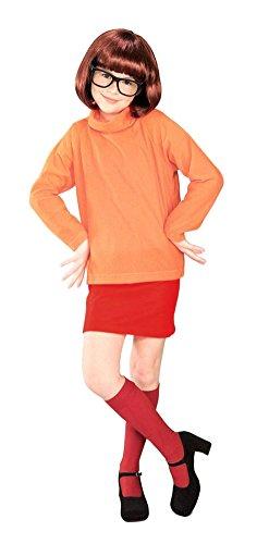 Scooby Doo Velma Child Lg Kids Girls Costume -