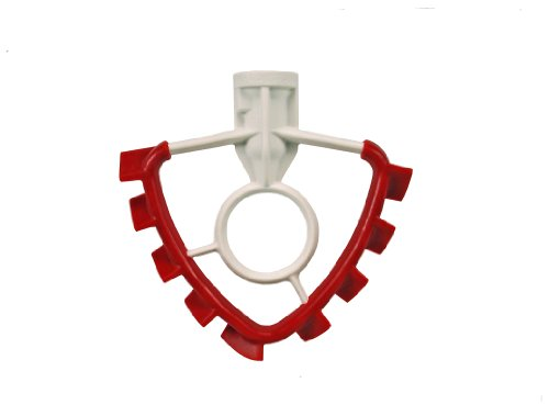 Aluminum Flat Beater (SideSwipe flex edge beater for KitchenAid Tilt-Head Mixers, in Red)