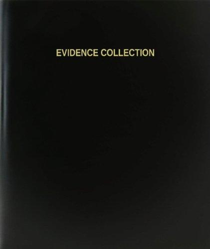 "BookFactory® Evidence Collection Log Book / Journal / Logbook - 120 Page, 8.5""x11"", Black Hardbound (XLog-120-7CS-A-L-Black(Evidence Collection Log Book))"
