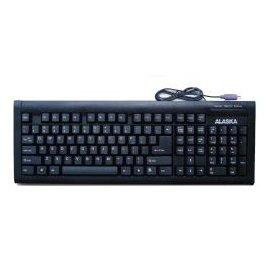 (Alaska Keyboard 660Eb-Ps2 English Ps2 Slim Standard Black )
