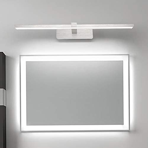 -badezimmerlampe Nordic Spiegel Scheinwerfer Einfach Badezimmer Wasserdichte Waschbecken Lampe Kreative Schlafzimmer Dekorative Beleuchtung LED-Wandleuchten Badleuchte (Color : White light)
