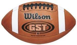 Wilson 1003 GST Football NFHS/NCAA Leather Football