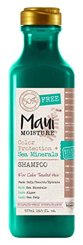 Maui Moisture Shampoo Color Protection Plus Sea Minerals By Maui Moisture, 19.5 Ounce