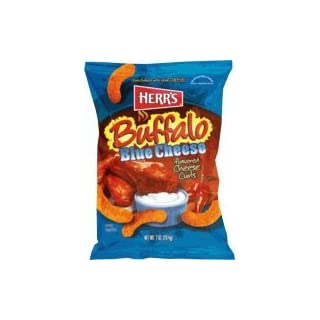 Herr's - BUFFALO BLUE CHEESE CURLS, Pack of 42 bags