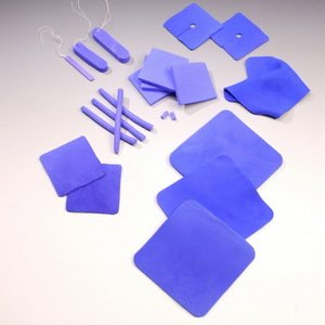 HydroferaBlue Dressing with Moisture-Retentive Film 4'' x 4.75'' 10 ct - Hollister HBRF4475 by mc