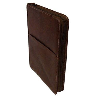 AmeriLeather Leather Writing Portfolio Cover (Brown)