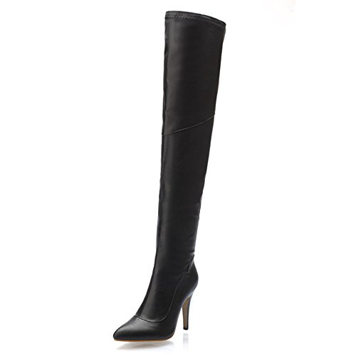 Shoe'N Tale Women Over The Knee High Stretchy