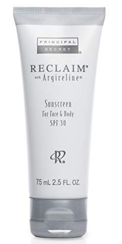 (Principal Secret - Reclaim with Argireline - Sunscreen for Face & Body - 90 Day Supply/2.5 Ounces)