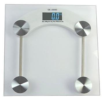 Digital Mini Body Electronic Health Bothroom Weighing Scale (5~180Kg, 0.1Kg, 1*Cr2032)