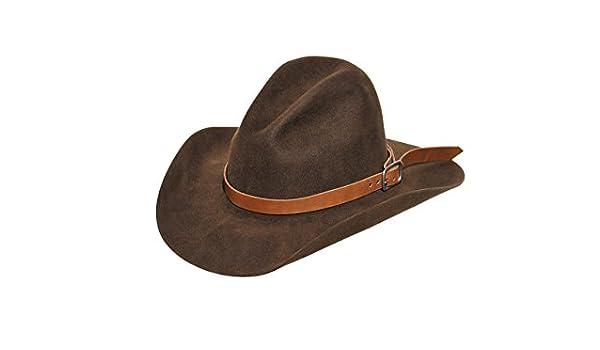 3b71f85f8 Amazon.com: Chocolate Cowboy Hat, Gus, 20X: Handmade