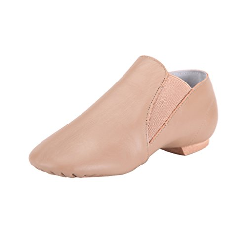Dance On Leather Jazz Shoe Tent Slip Brown Womens 100 wqCfSZB