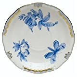 Herend Fortuna Blue Tea Saucer