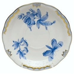 Herend Fortuna Blue Tea Saucer