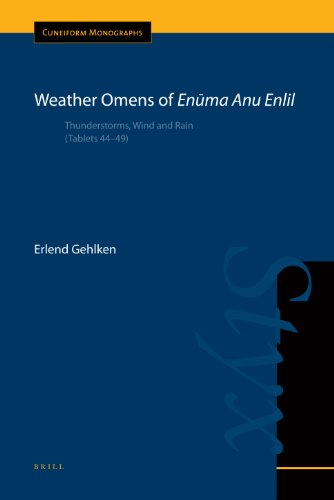 Weather Omens of Enūma Anu Enlil: Thunderstorms, Wind and Rain (Tablets 44-49) (Cuneiform Monographs)