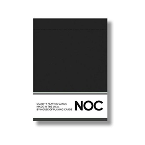 NOC 2017 Playing Cards (BLACK) Limited Edition Air-Cushion Finish Deck by USPCC