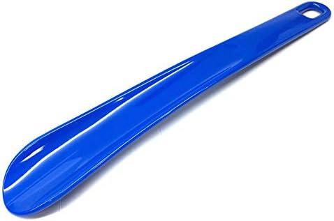 軽量 プラスチック製シューホーンは、タイトフィットの靴のために仕上げトラベルサイズ靴べらスムース 耐用 (Color : Brown, Size : 26cm)