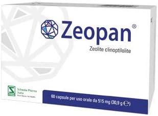 Zeopan Zeolite Clinoptilolite 60 Capsule Per Uso Orale Da 515 Mg Amazon It Salute E Cura Della Persona