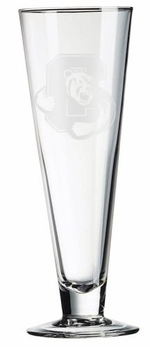 - Cornell Big Red Deep Etched Classic Beer Pilsner