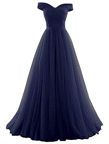- Vickyben Women's A-Line Tulle Prom Formal Evening Homecoming Dress Ball Gown