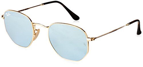 Ray-Ban Metal Man Sunglasses - Gold Frame Wisteria Flash ...