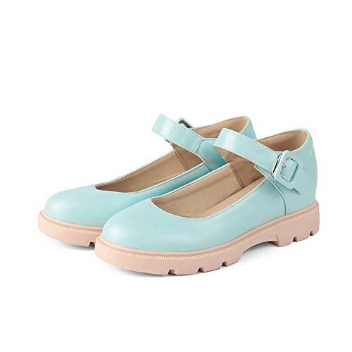 SDC05531 Compensées AdeeSu Femme Sandales Bleu FYSddqvnfw