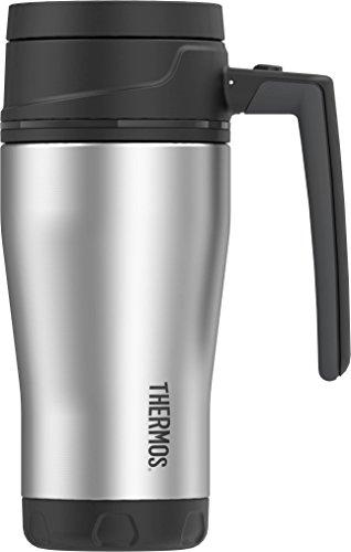 Thermos ELEMENT5 16 Ounce Vacuum Insulated Stainless Steel Travel Mug, - 16 Oz Travel United Mug