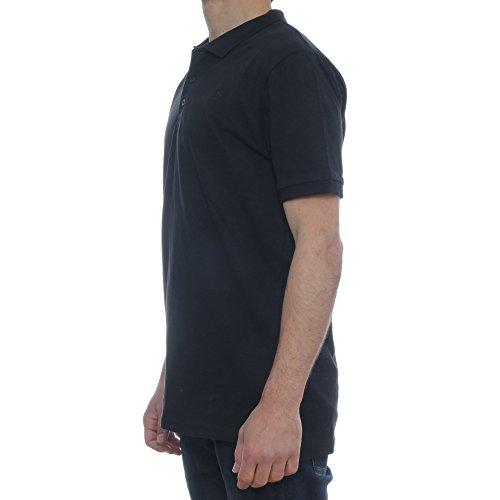 Only Herren Poloshirt schwarz schwarz